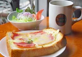 【人気】カフェでゆっくり朝ごはん♪